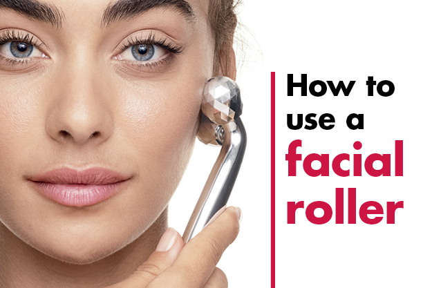 How to use a facial roller