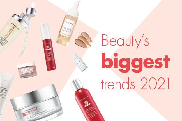 Beauty's biggest trends 2021
